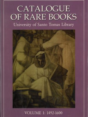 Catalogue of Rare Books Volume 1-0
