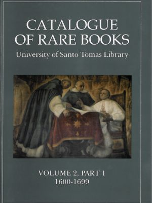 Catalogue of Rare Books Volume 2-0