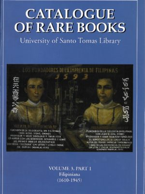 Catalogue of Rare Books Volume 3-0
