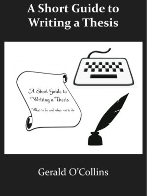 A Short Guide to Writing a Thesis (PAPERBACK)-0